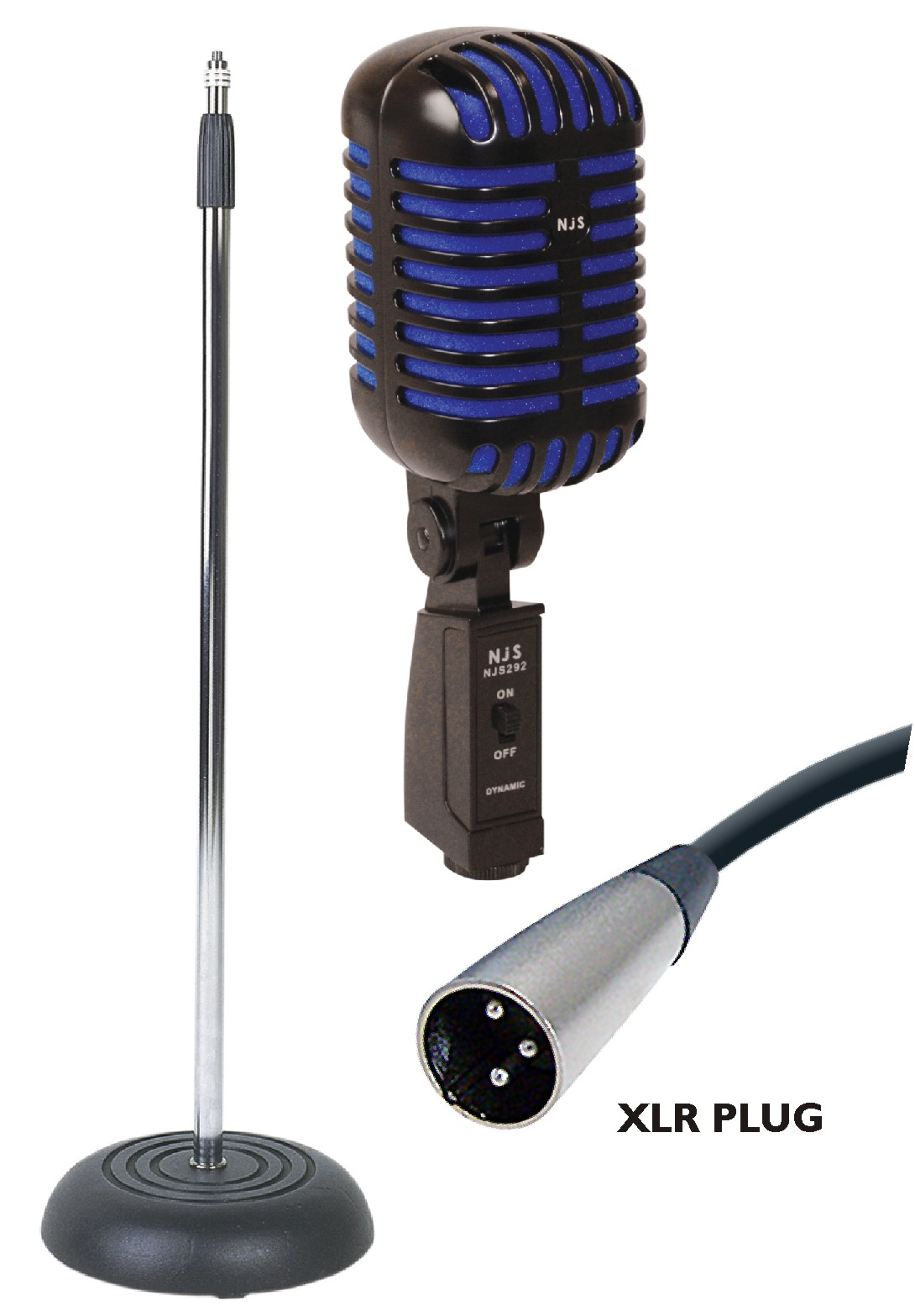 Elvis Microphone Stand